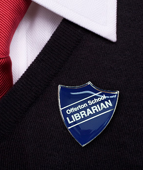 School-Librarian-Badge